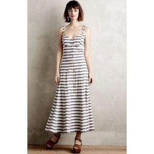 Anthropologie Maeve stripe dress